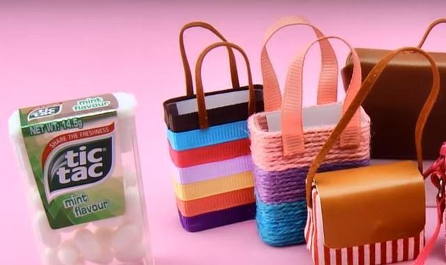 DIY创意手工,玲珑小巧迷你拎包的制作,简单易学好上手!