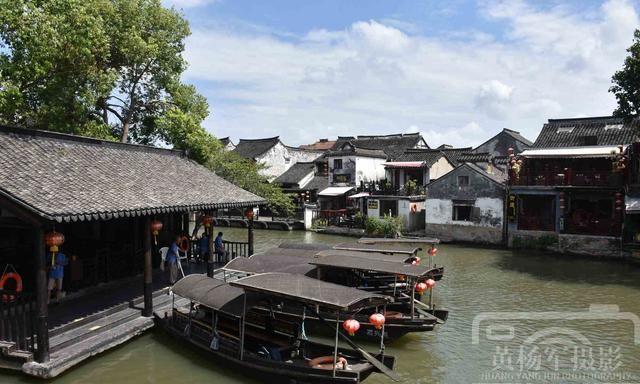 活着的千年古镇,浙江嘉兴市西塘古镇的水乡风光美如画