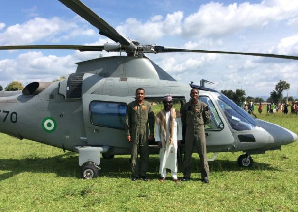 尼日利亚空军唯一一架灰色涂装AW-109直升机坠毁