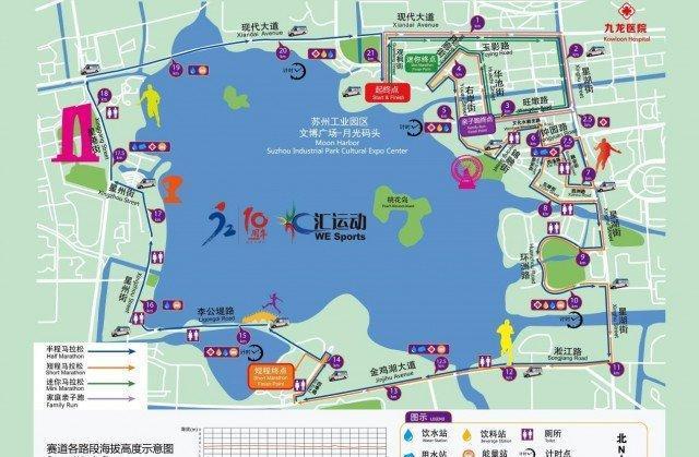 就在3月10号,熟悉的环金鸡湖国际半程马拉松即将开跑!
