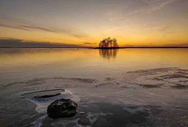 圣诞老人之乡:芬兰的夕阳雪景,人文风光绝美