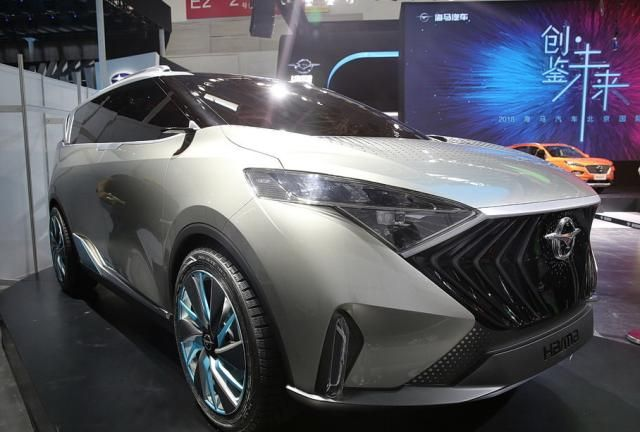 海马VF00概念车量产版将于广州车展首发