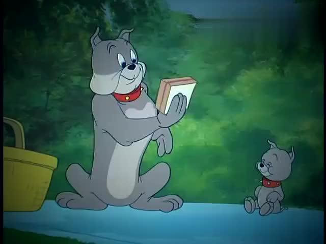 猫和老鼠杰瑞鬼点子真多汤姆抓他他却陷害汤姆