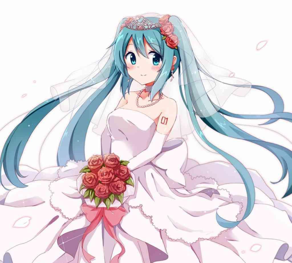 动漫图集:你穿上了花嫁,但是中意的新郎呢?
