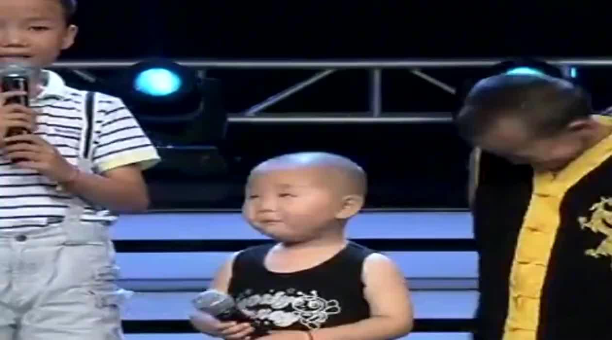 萌娃张俊豪选秀现场被挑衅评委姜桂成霸气怒怼