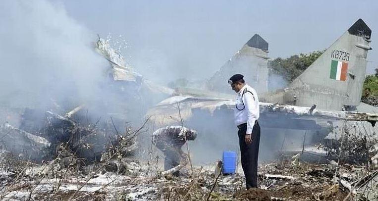 试飞失败,一架新型军机失控坠毁于住宅区外,俄军方已经下令彻查