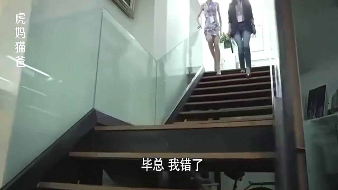 虎妈猫爸:职场女强人赵薇霸气侧漏,一席话说的全体员工起立!