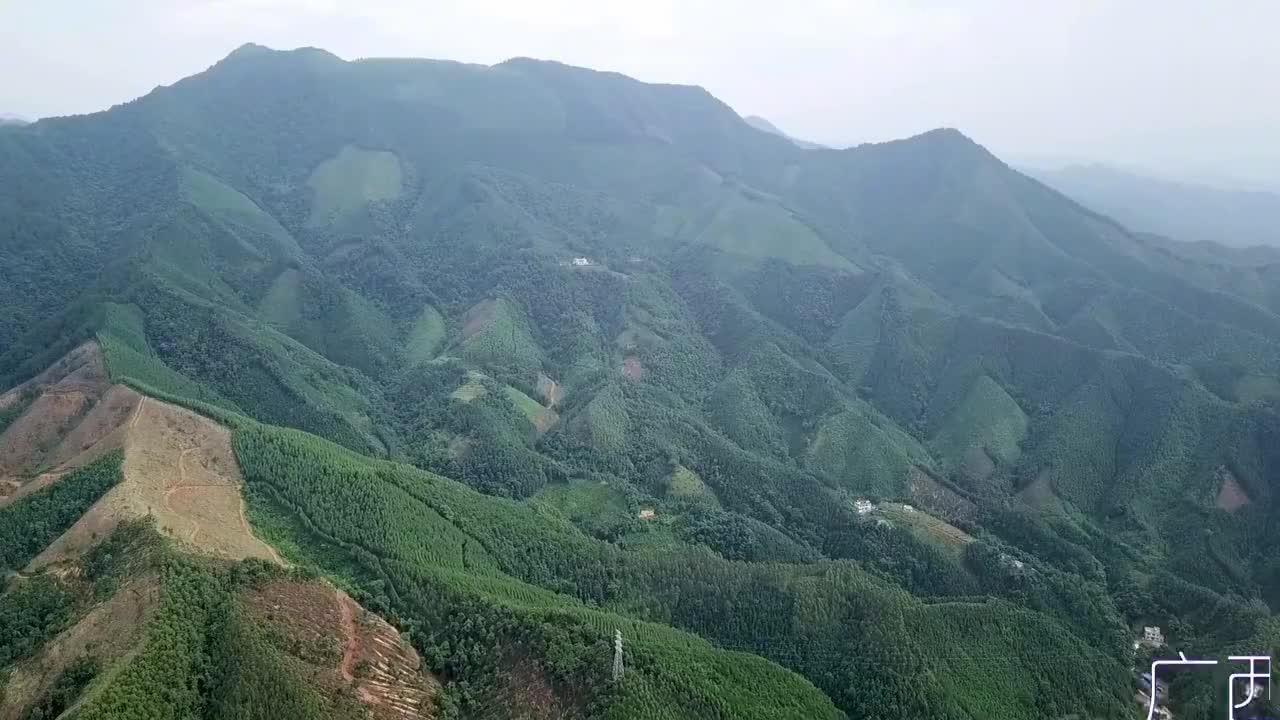 广西贺州黄洞遥族的房子地理位置优势风水宝地