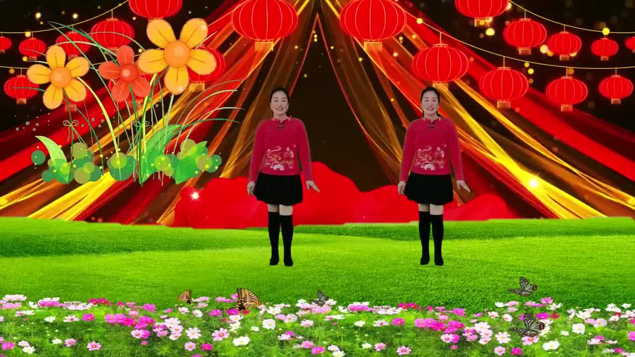 广场舞哑巴新娘歌好听舞好看简单易学