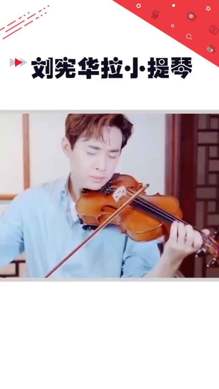 刘宪华小提琴版抖音神曲小提琴拉神曲这么好听