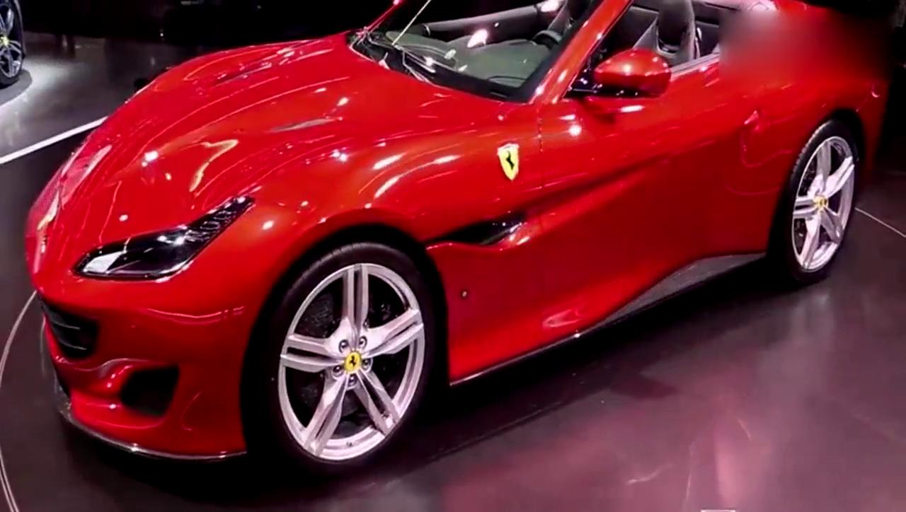 视频:2018 法拉利Portofino 敞篷版双门高级轿跑内外实拍