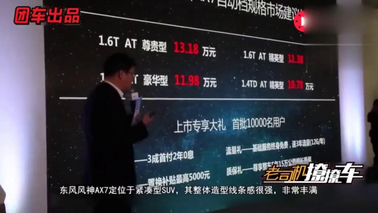 视频:东风风神AX7+SUV市场竞争更上一层楼+买车的围观啦!