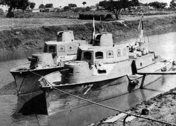 抗战时期小鬼子的内河炮艇