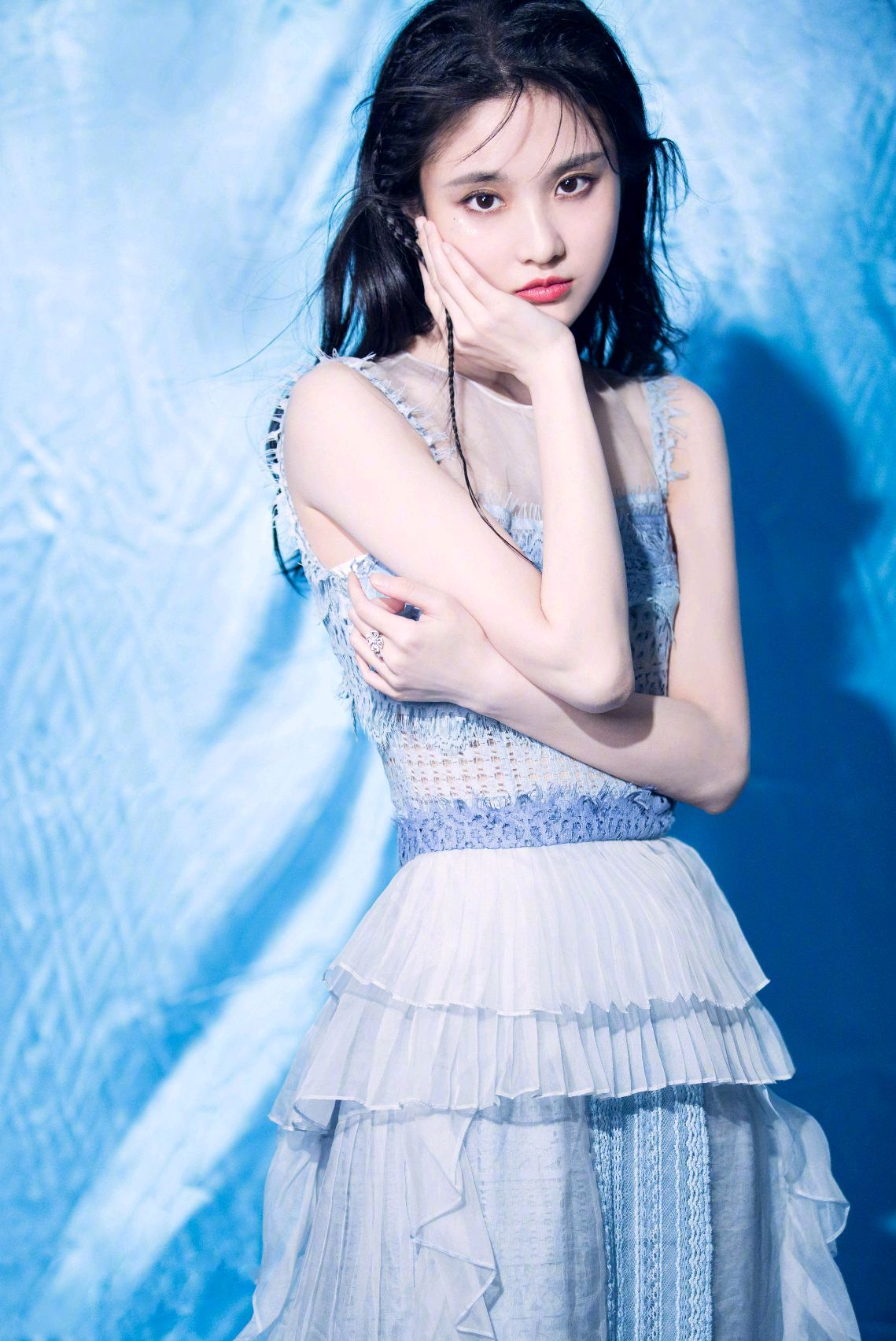 张慧雯:蓝色仙女系,静态比动态更美的女人