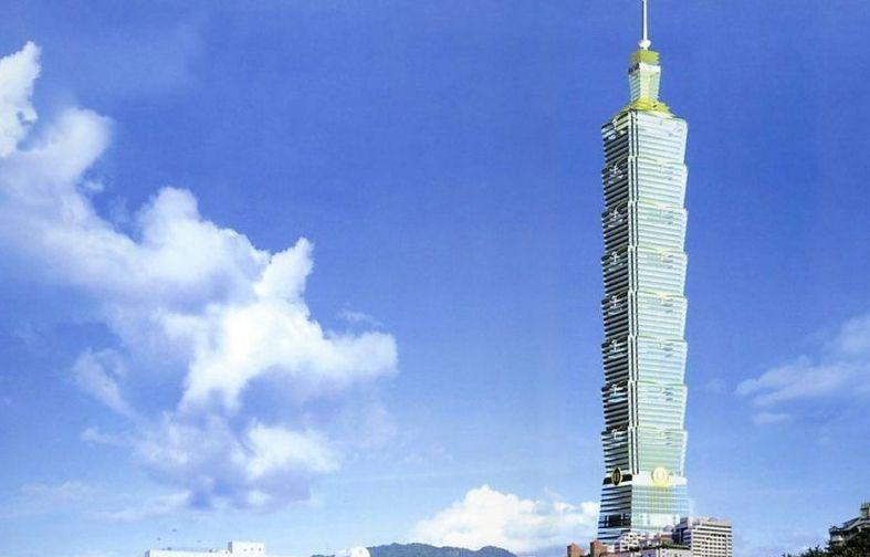 台北101大楼——列入吉尼斯世界纪录的最快速电梯