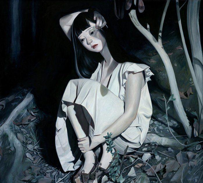 韩国女画家Joanne Nam的画,他山之石可以借鉴一下