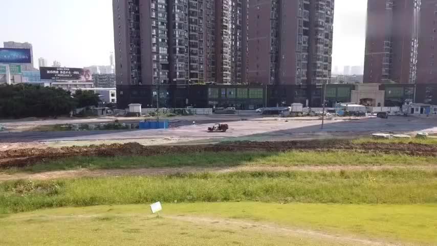 实拍湖北荆州早晨7点的街景带你们看看荆州的城市建设