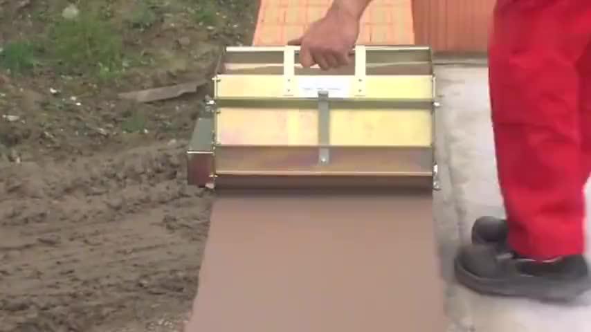 德国使用这种红砖几天能盖好房屋抹灰神奇红砖开了眼界
