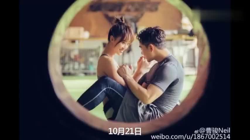 蓝盈莹与曹俊分手守时先生和迟到小姐的爱情故事落幕了