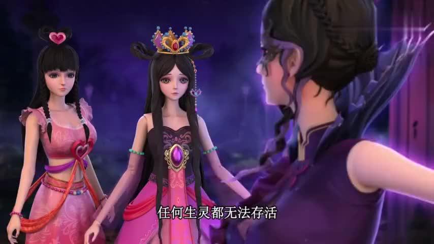 叶罗丽仙子们感情很好而且力量都很强大谁来了都不怕