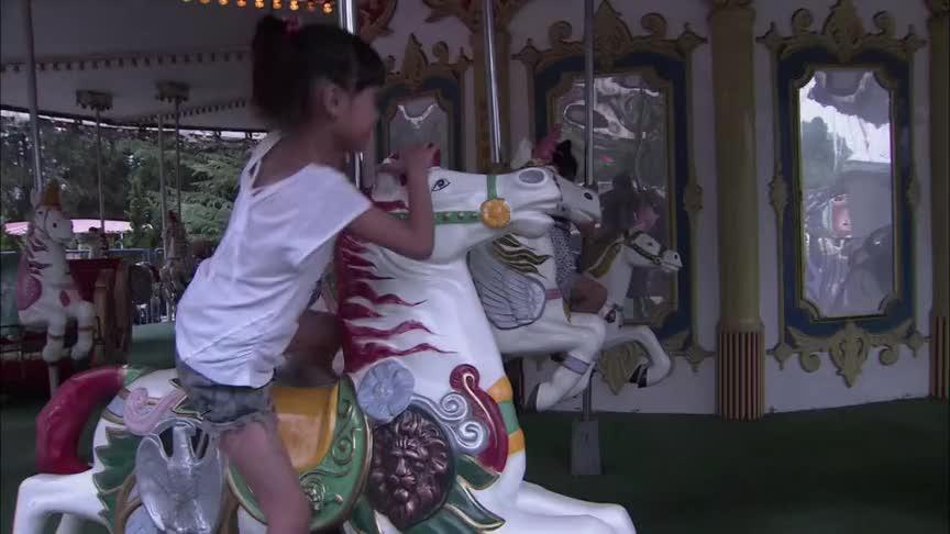 安然陪女儿在游乐场过生日,竟碰到何主任真是太意外了