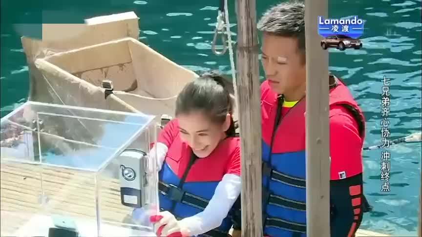 当初的郑恺信心满满还放话说船开去首尔都没问题了结果成了这样