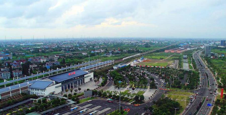 浙江嘉兴桐乡市交通最便利的镇,高速公路过境,还有高铁站