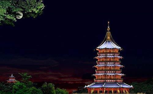 杭州雷锋大厦:隐藏美丽的爱情故事,观赏西湖上最好的地方