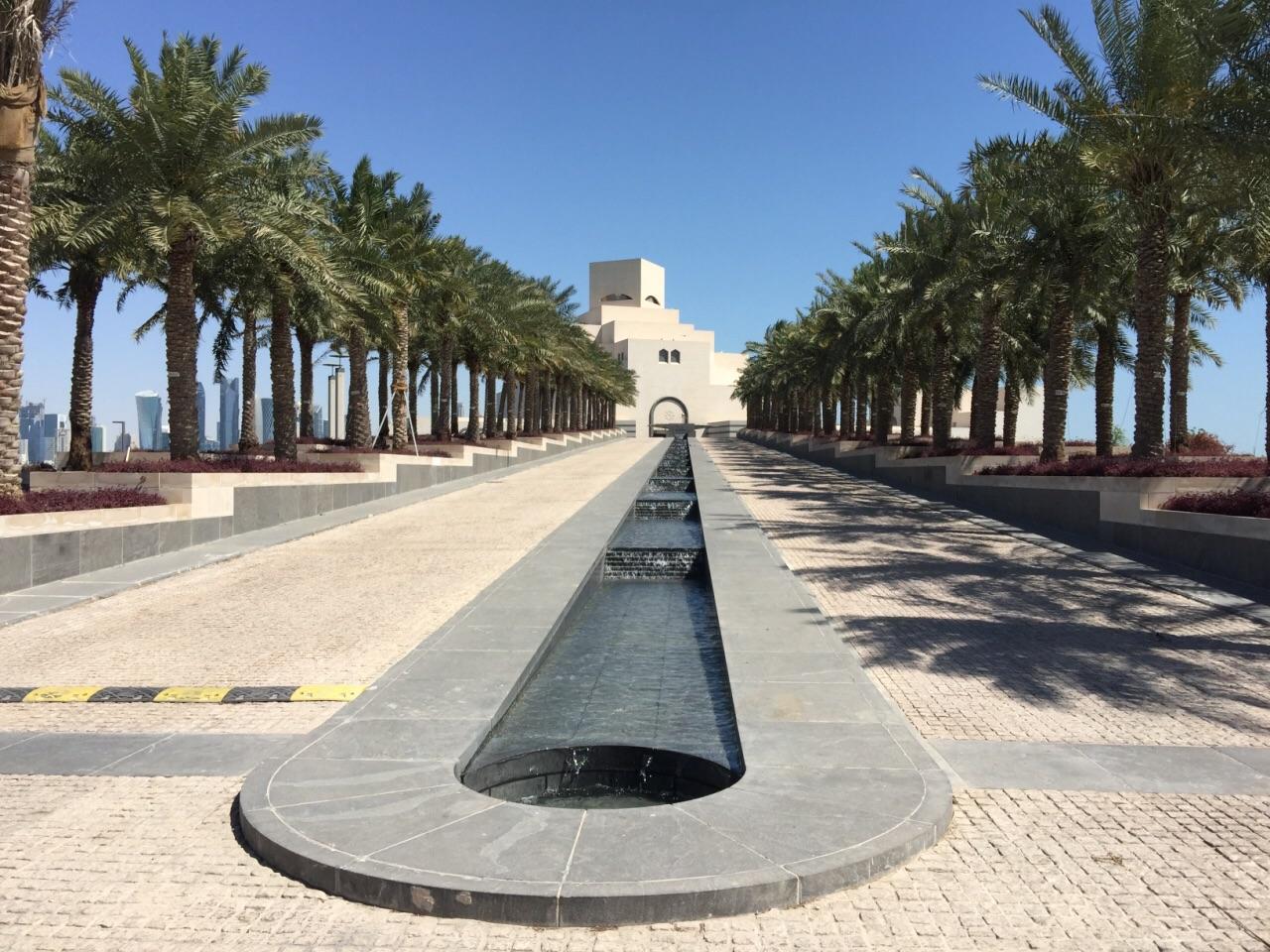卡塔尔 多哈 伊斯兰艺术博物馆 华人建筑大师贝聿铭最后的杰作