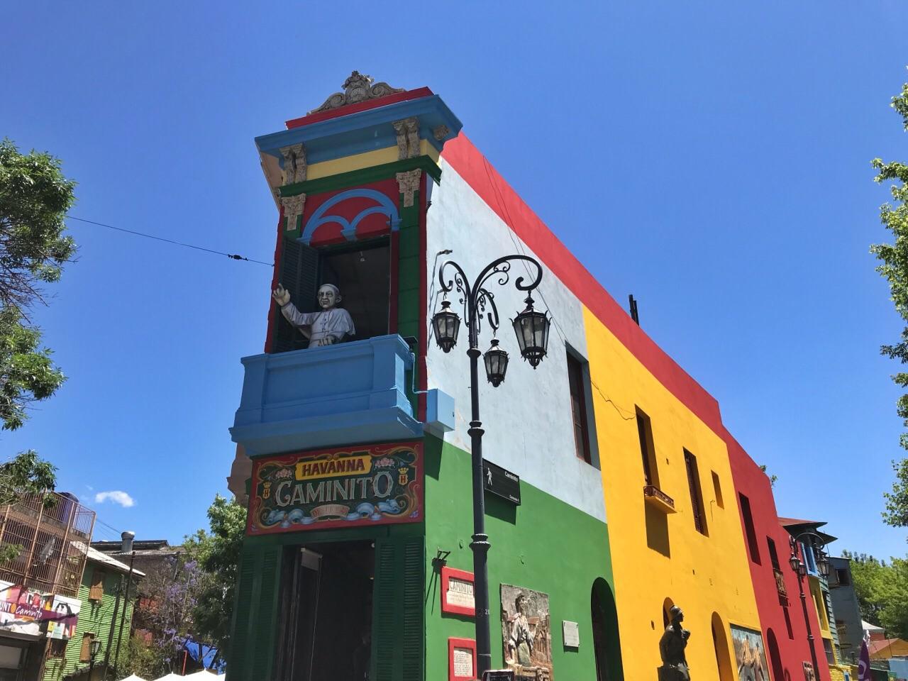阿根廷 布宜诺斯艾利斯 博卡街区