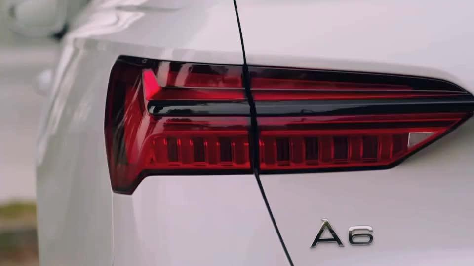视频:最新款奥迪a6l看见这个车灯才知道为啥号称买灯送车