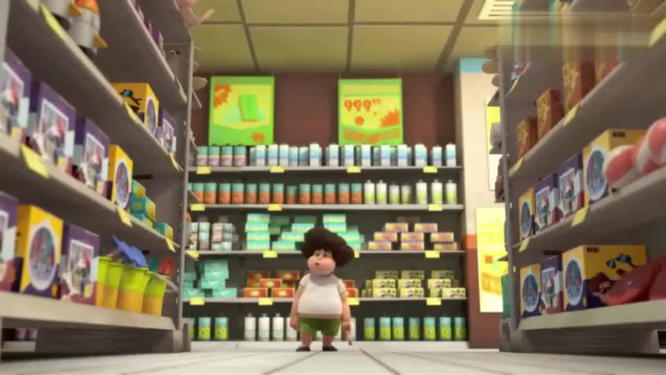 疯狂的兔子疯兔子大闹零售店商店顾客吓得乱窜