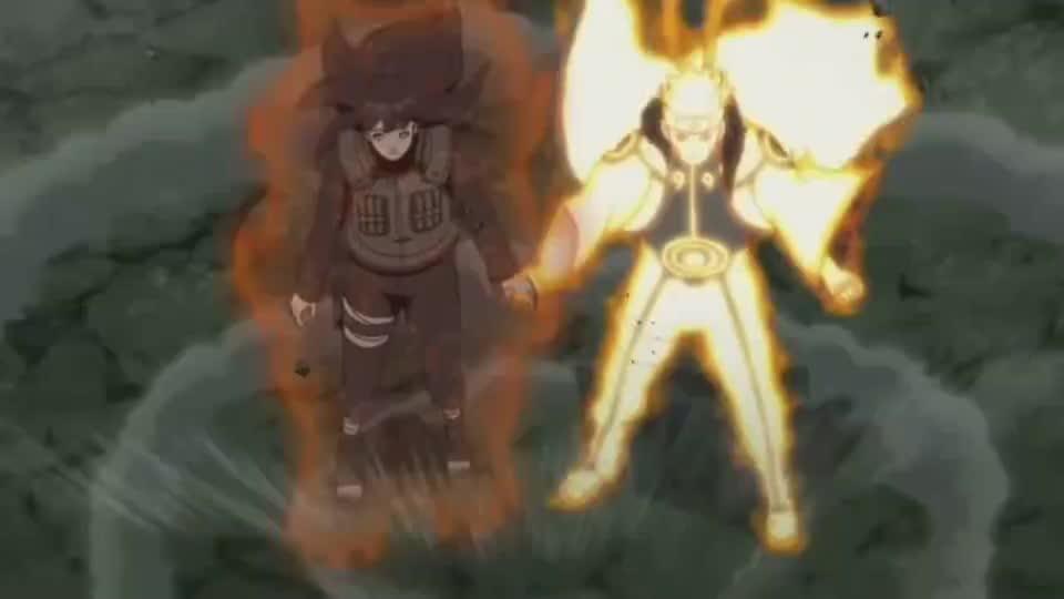 火影忍者夫妻档登场鸣人把查克拉分第一个人就是雏田秀恩爱啊