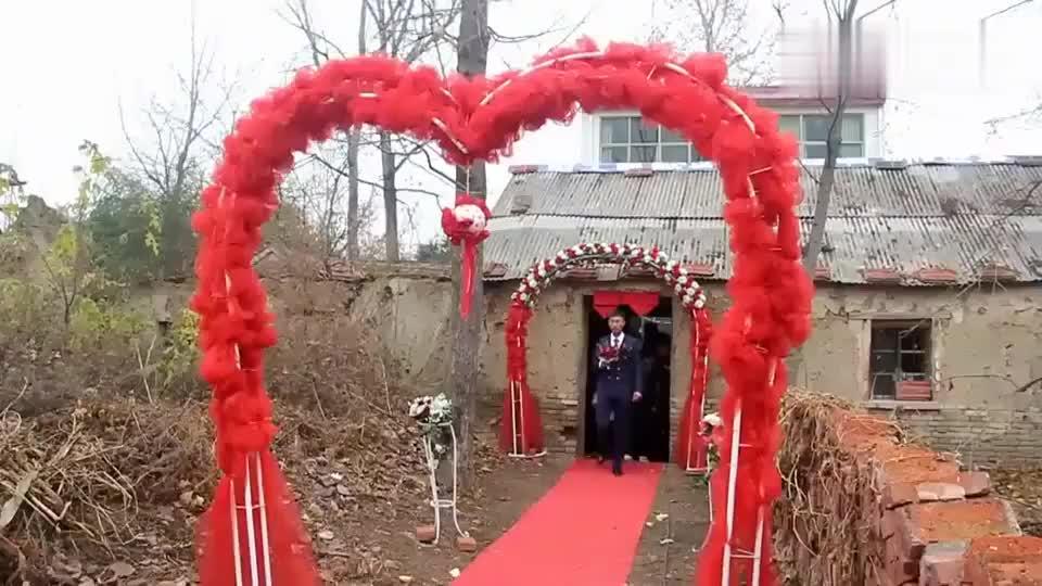 结婚农村婚礼真简单山东姑娘嫁安徽蚌埠小伙新娘是真漂亮