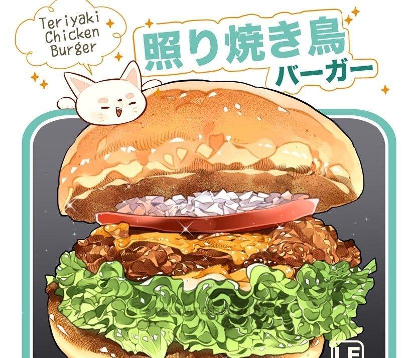 超级精美的美食插画,美味停不下来