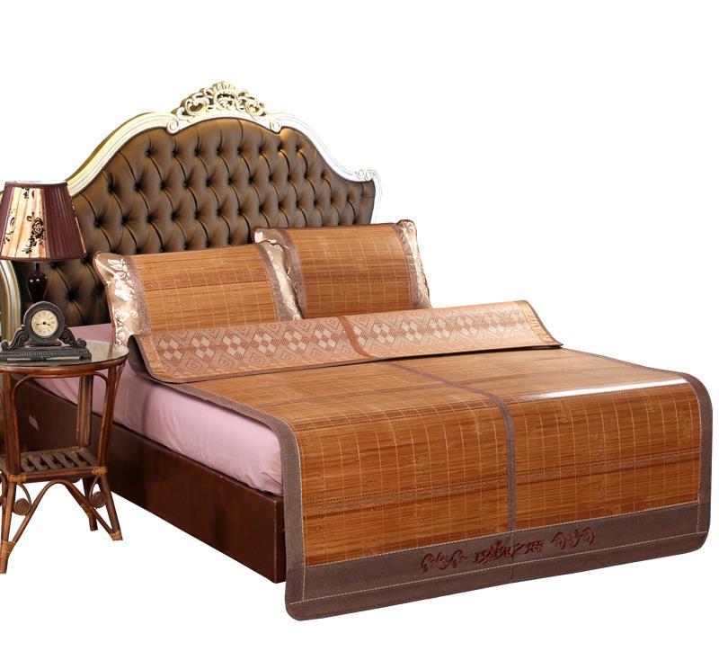 清凉降温的竹席,柔软舒适,让你更加的舒适
