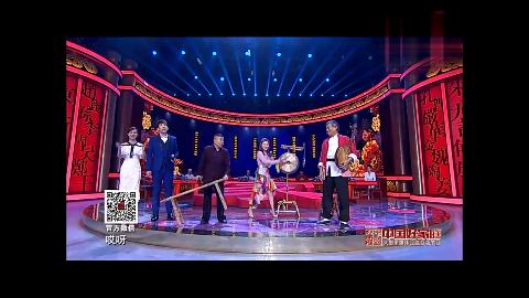 潘长江潘阳父女表演唱华阴老腔经典选段