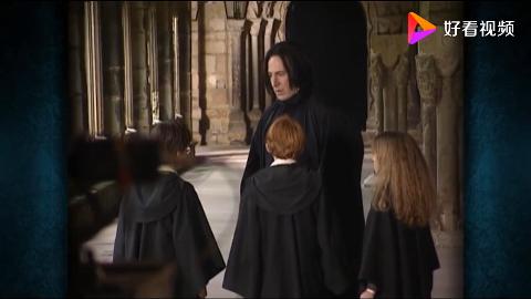 """哈利波特花絮:快要笑死了!丹尼尔居然这么""""害怕""""斯内普"""