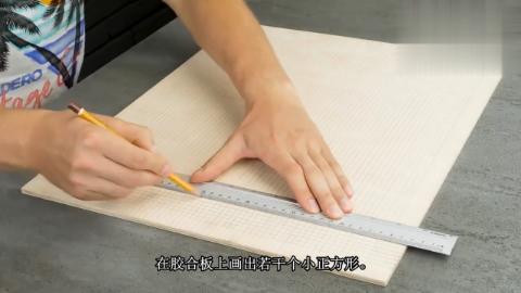 """国外小伙用竹签制作""""人体打印机"""",这也太会玩了!"""