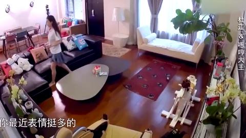 嗯哼妹妹哎哟喂曝光 杜江和霍思燕离家 嗯哼叫不让爸爸走
