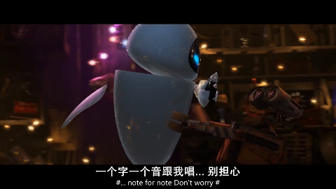 机器人总动员瓦力的家好漂亮啊什么都有好多伊娃没见过