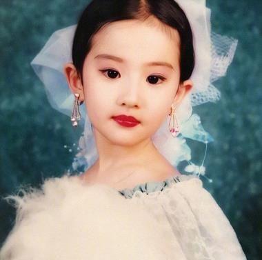 当红女星的童年照,躲过了刘亦菲,逃开了杨幂,却被杨紫惊艳到