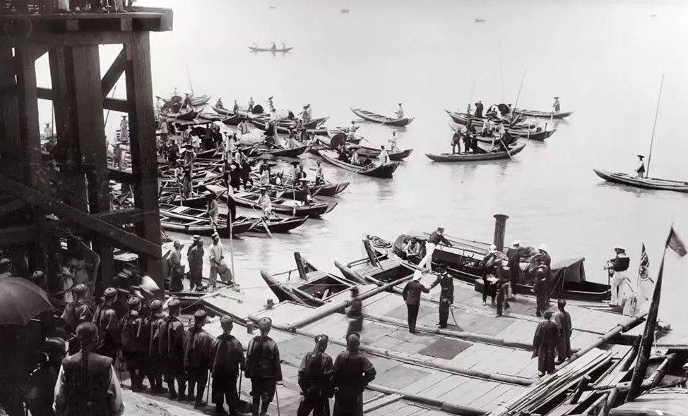 清末老照片:德国亨利亲王访问武汉并参观汉阳兵工厂