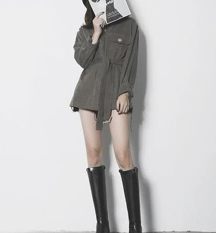 冬季长靴选择困难症?认定今年潮流骑士靴准没错,简单搭配秀美腿