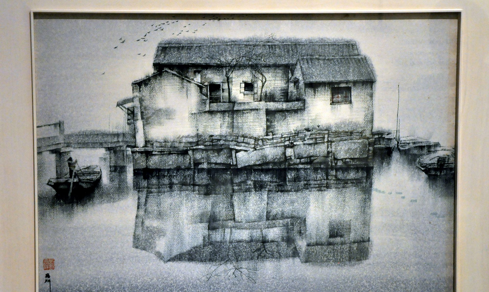 从长江走来——湖北优秀美术作品展,版画篇