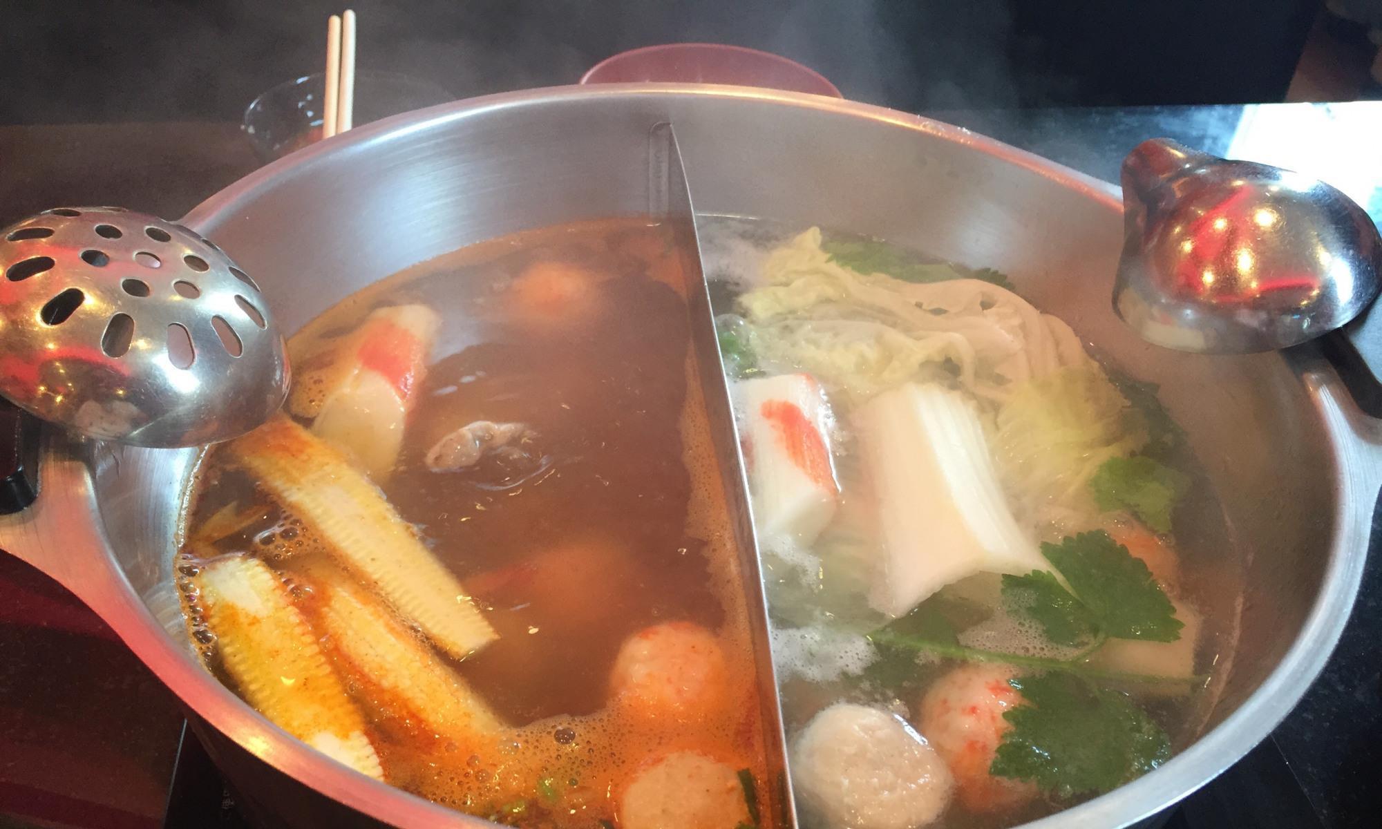 在泰国吃自助火锅初体验