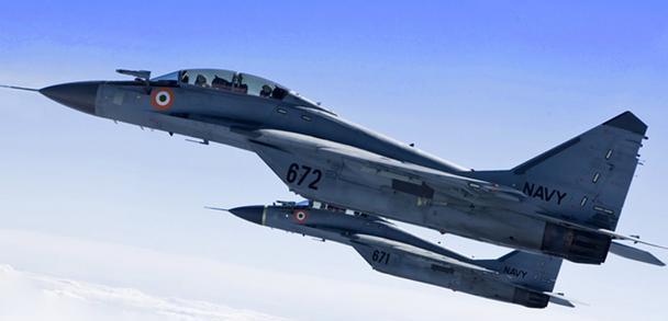 万国造印度军机再出事故,俄制型号再次坠毁,海军飞行员不用背锅