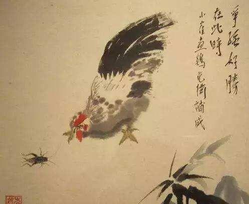 崔永元画的鸡,朱军画的鸡,毕姥爷的四个大字,有人十几万要买