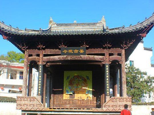 古戏台位于江西上饶市镇头镇阳春村,外形美观结构牢固,值得一去