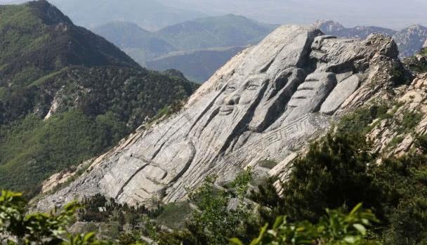 世界最大山体雕刻寿星,蒙山寿星,长寿才是真功夫